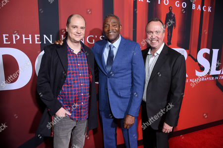 Mike Flanagan, Carl Lumbly and Trevor Macy