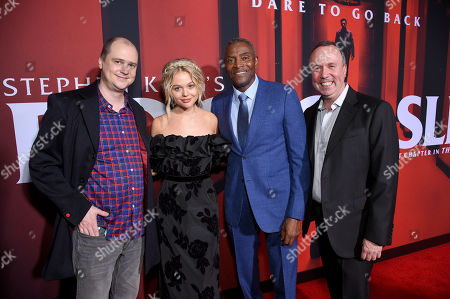 Stock Photo of Mike Flanagan, Emily Alyn Lind, Carl Lumbly and Trevor Macy