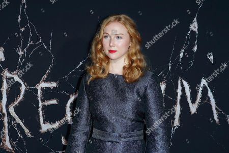 Molly Quinn poses on the red carpet during the movie premiere of 'Doctor Sleep' at Regency Village Theater in Los Angeles, USA, 29 October 2019. The movie opens in the United States on 08 November 2019.