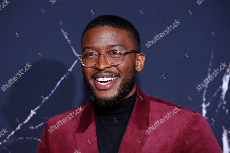 Zackary Momoh poses on the red carpet during the movie premiere of 'Doctor Sleep' at Regency Village Theater in Los Angeles, USA, 29 October 2019. The movie opens in the United States on 08 November 2019.