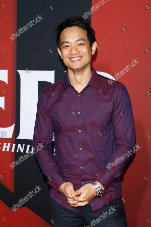 Stock Photo of Osric Chau poses on the red carpet during the movie premiere of 'Doctor Sleep' at Regency Village Theater in Los Angeles, USA, 29 October 2019. The movie opens in the United States on 08 November 2019.