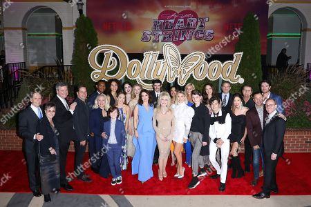 Lisa Melamed, Sam Haskell, Kyle Bornheimer, Shane McGhie, Vanessa Rubio, Mary Lane Haskell, Willa Fitzgerald, Lucas Townsend, Sarah Shahi, Jessica Collins, Jaclyn Betham, Ben Lawson, Mac Davis, Mary Donnelly Haskell, Tyler Crumley, Holly Taylor, Kimberly Williams-Paisley, Dolly Parton, Julianne Hough, Aidan Langford, Andy Mientus, Charity Cervantes and Sean Smith