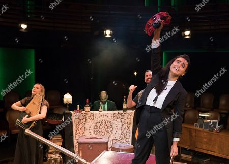 Editorial image of 'Ghost Quartet' Cabaret how performed at the Boulevard Theatre, London, UK - 28 Oct 2019