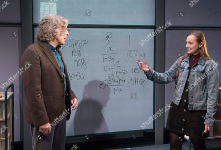 Alan Davies as Henry, Leila Mimmack as Edie