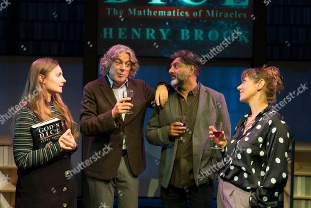 Leila Mimmack as Edie, Alan Davies as Henry, Nitin Ganatra as Tim, Alexandra Gilbreath as Virginia