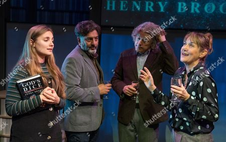 Editorial image of 'God's Dice' Play by David Baddiel performed at the Soho Theatre, London, UK - 28 Oct 2019