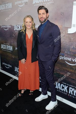 Editorial photo of Tom Clancy's 'Jack Ryan' TV show season two premiere, Arrivals, New York, USA - 29 Oct 2019