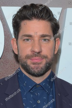 Editorial image of Tom Clancy's 'Jack Ryan' TV show season two premiere, Arrivals, New York, USA - 29 Oct 2019