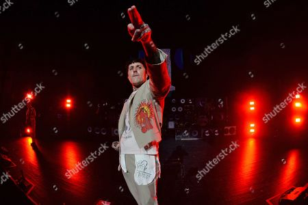 Stock Picture of Oliver Sykes