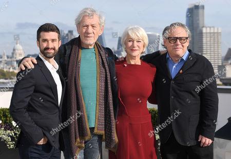 Greg Yolen, Sir Ian McKellen, Helen Mirren and Bill Condon
