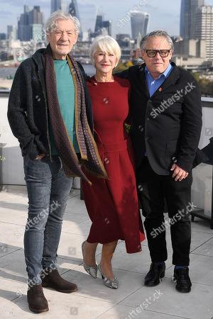 Sir Ian McKellen, Helen Mirren and Bill Condon