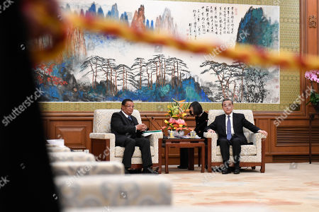 Editorial image of Former Ethiopian President Mulatu Teshome visits China, Beijing - 30 Oct 2019