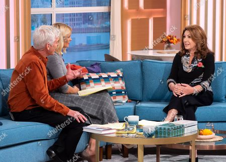 Phillip Schofield and Holly Willoughby with Jane McDonald