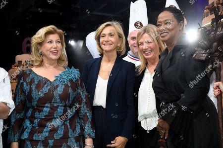 Madame Dominique Folloroux-Ouattara, Babette de Rozieres, Valerie Pecresse