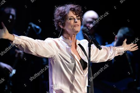 Editorial image of Lisa Stansfield in concert, The Royal Concert Hall, Glasgow, Scotland, UK - 28 Oct 2019