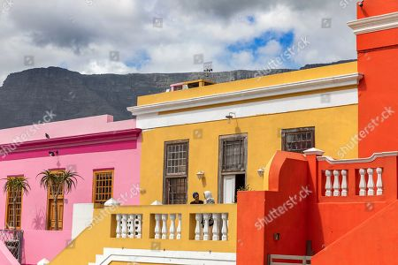 A general view of the Bo-Kaap neighborhood of Cape Town, South Africa, 30 October 2019. The Bo-Kaap Civic and Ratepayers Association has been awarded a gold certificate at the 2019 Simon van der Stel Awards for its efforts to preserve the heritage of their area. A one billion Rand development on the fringes of the Bo-Kaap was halted by residents in a clash with police in November last year. The Bo-Kaap neighborhood on Signal Hill dates back to the establishment of a Dutch colony on the Cape of Good Hope in the seventeenth century. It is a multi-ethnic and multi-lingual community composed of descendants from South and Southeast Asian nations who had been forcibly relocated to supply skilled labor for the expanding Cape Colony. The Bo-Kaap is recognized globally for its distinctive vernacular architecture and its enduring Muslim culture. The district preserves the largest collection of pre 1850 architecture in South Africa including the countries oldest mosques.  The Bo-Kaap has also been proposed to become South Africa?s first official Lego set. The idea came after Lego fan Wayne Nestadt entered his recreation of the area in the Lego Ideas competition.