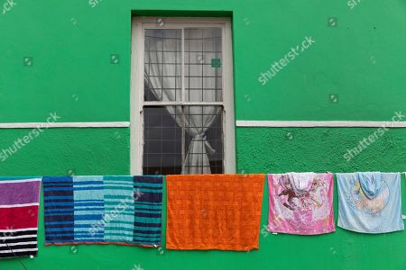 Editorial image of Cape Malay Bo-Kaap district, Cape Town, South Africa - 30 Oct 2019