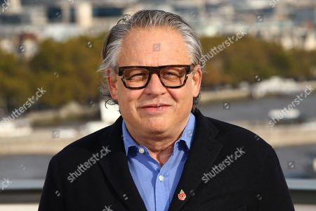 Bill Condon poses for photographers upon arrival at the premiere of 'The Good Liar' at a central London hotel