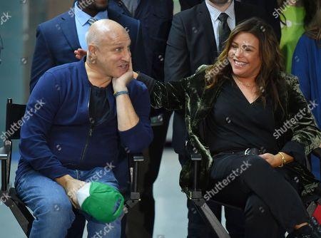 Editorial picture of Mayor Bill de Blasio visits Anna Silver School cafeteria, New York, USA - 30 Oct 2019