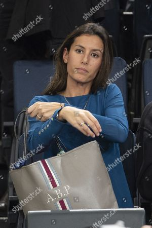 Stock Photo of Ana Boyer Preysler attends her husband's game