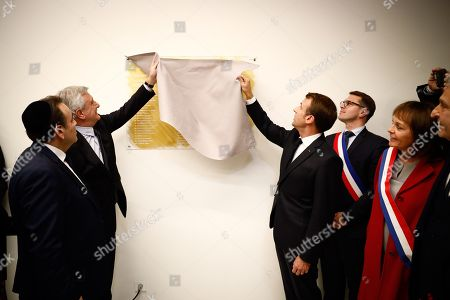 Editorial picture of European Judaism Center inaugurated, Paris, France - 29 Oct 2019