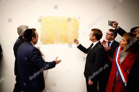 Editorial photo of European Judaism Center inaugurated, Paris, France - 29 Oct 2019