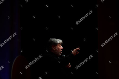 Editorial picture of Co-founder of Apple Inc. Steve Wozniak in Budapest, Hungary - 30 Oct 2019
