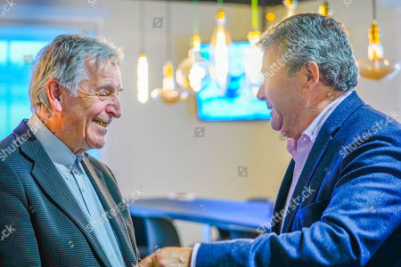 Costa-Gavras and Boris Portnoy