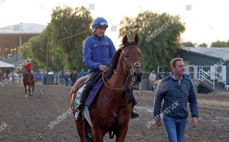 OLD PERSIAN training for the Breeders' Cup Turf with Charlie Appleby Santa Anita USA