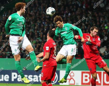 Editorial image of SV Werder Bremen vs FC Heidenheim, Germany - 30 Oct 2019