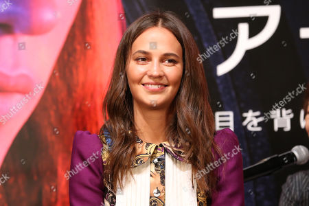Editorial image of Netflix 'Earthquake Bird' film, press conference, 32nd Tokyo International Film Festival, Japan - 29 Oct 2019