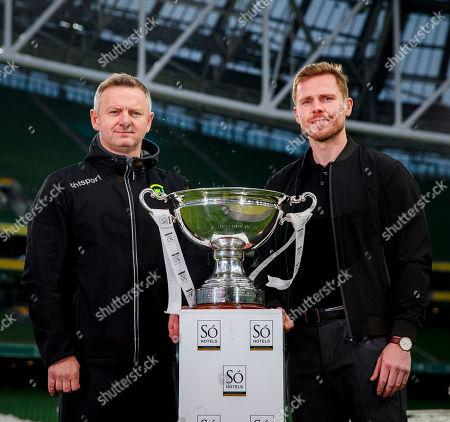 Editorial image of FAI Cup Finals Media Day, Aviva Stadium, Dublin  - 30 Oct 2019