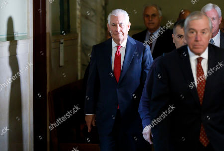 Editorial picture of Rex Tillerson Testifies in New York case Against Exxon Mobile., USA - 30 Oct 2019