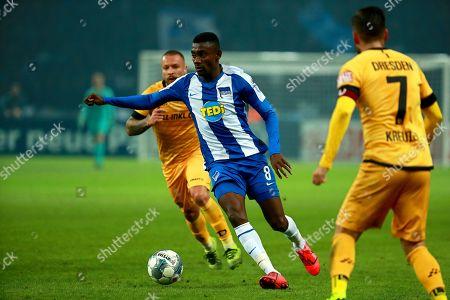 Editorial photo of Hertha BSC Berlin vs Dynamo Dresden, Germany - 30 Oct 2019