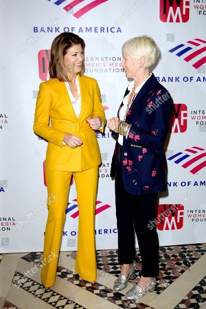 Norah O'Donnell and Joanna Coles