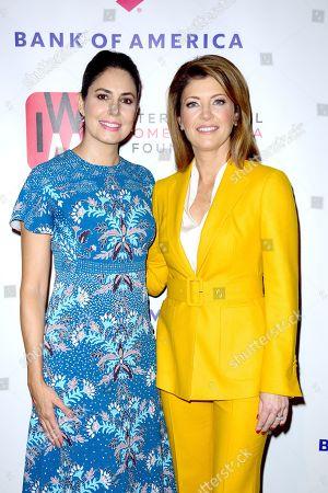 Cecilia Vega and Norah O'Donnell