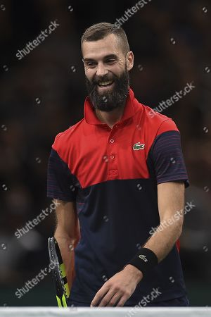 Editorial picture of Rolex Paris Masters tennis tournament, France - 30 Oct 2019