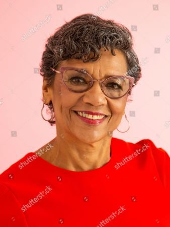 """Stock Image of This photo shows actress Sonia Manzano posing for a portrait in New York to promote her new animated series """"The Casagrandes"""