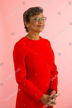 """This photo shows actress Sonia Manzano posing for a portrait in New York to promote her new animated series """"The Casagrandes"""
