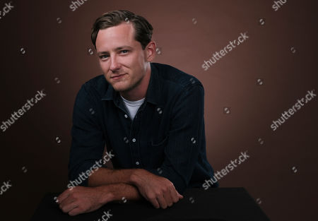 """Lewis Pullman, a cast member in the film """"Them That Follow,"""" poses for a portrait in Los Angeles"""
