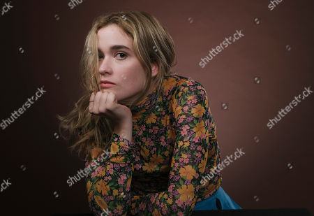"""Alice Englert, a cast member in the film """"Them That Follow,"""" poses for a portrait in Los Angeles"""