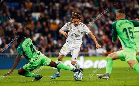 Editorial photo of Real Madrid v CD Legane, Spanish La Liga football match, Madrid, Spain - 30 Oct 2019