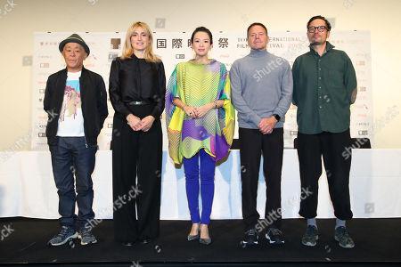 Editorial photo of Jury press conference, Tokyo International Film Festival, Japan - 29 Oct 2019