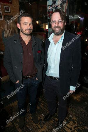 Giles Coren and David Mitchell