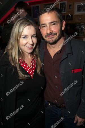 Victoria Coren Mitchell and Giles Coren
