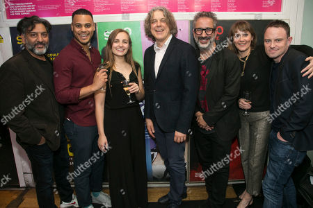 Nitin Ganatra (Tim), Adam Strawford (Interlocuter/Billy), Leila Mimmack (Edie), Alan Davies (Henry), David Baddiel (Author), Alexandra Gilbreath (Virginia) and James Grieve (Director)