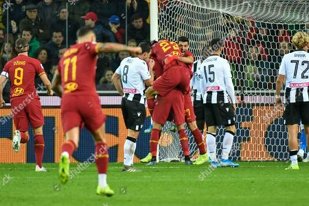 Editorial picture of Udinese v AS Roma, Serie A football match, Friuli-Dacia Arena, Udine, Italy - 30 Oct 2019