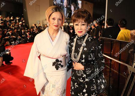 Stock Image of Mari Natsuki and Ruriko Asaoka