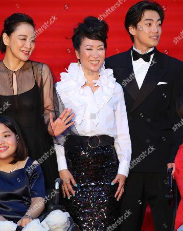 Misuzu Kanno, Hikari and Shunsuke Daito