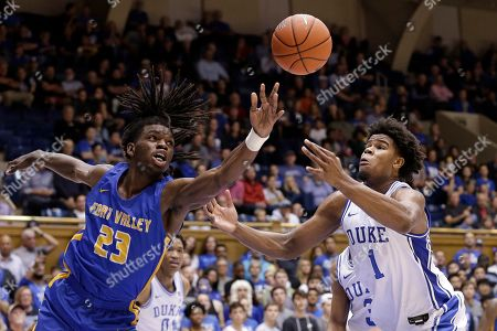 Editorial photo of Fort Valley State Duke Basketball, Durham, USA - 30 Oct 2019